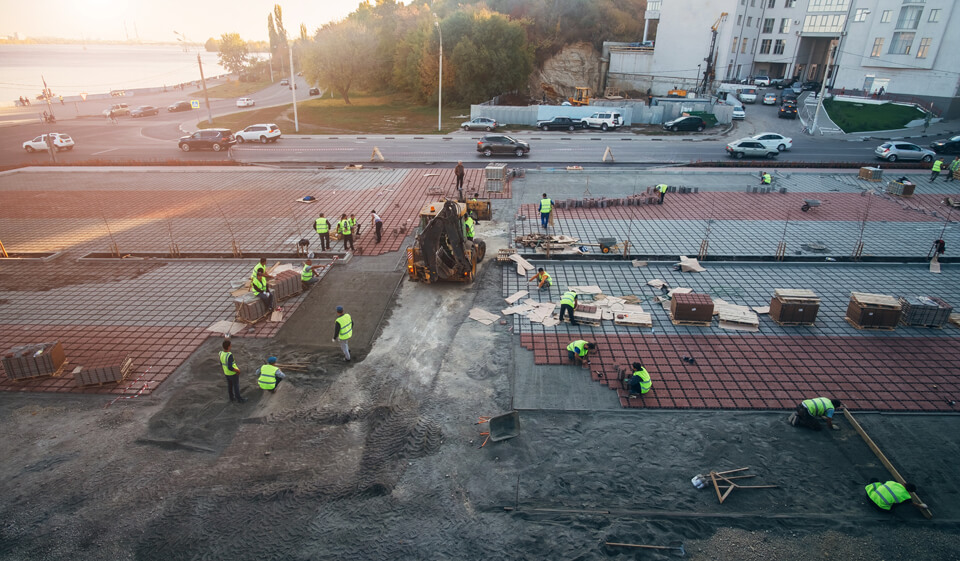 Commercial Concrete and Pavers