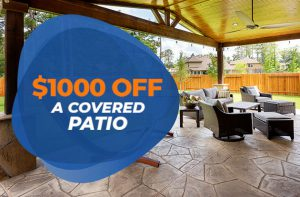 Special Offer Covered Patio